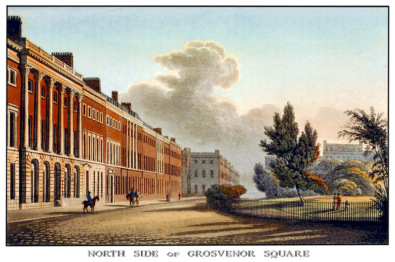 Grosvenor Square in London