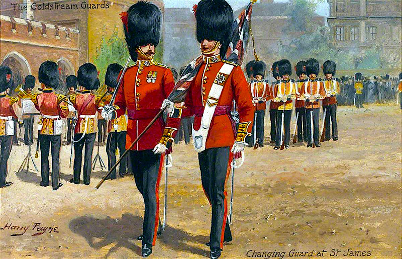 Coldstream Guards of St. James' Palace