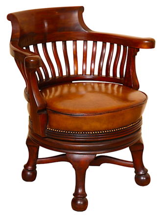 Darcy's swivel chair