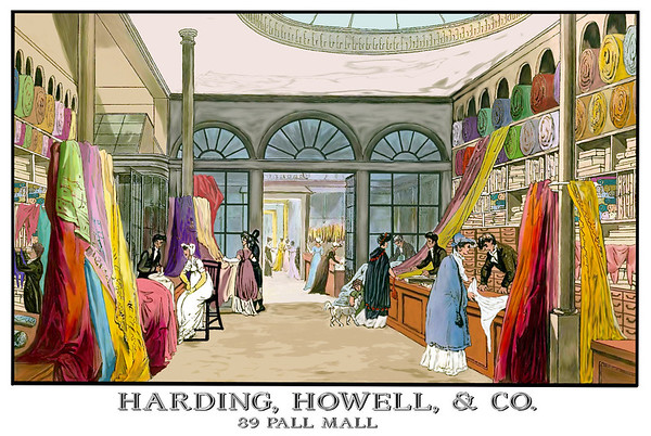 Harding, Howell & Co. shopping mall on Pall Mall