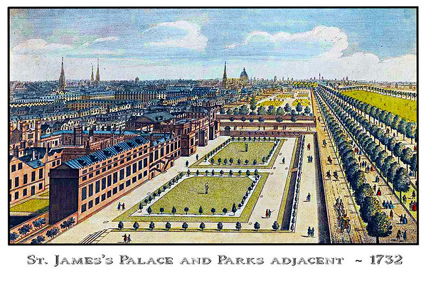 Palace private gardens & portion of