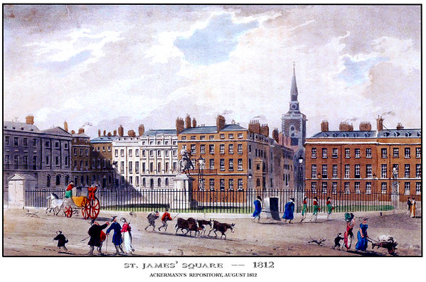 A view of St. James's Square