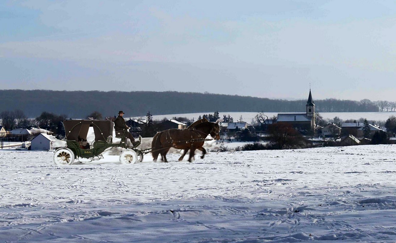 Bennets traveling to Pemberley for Christmas