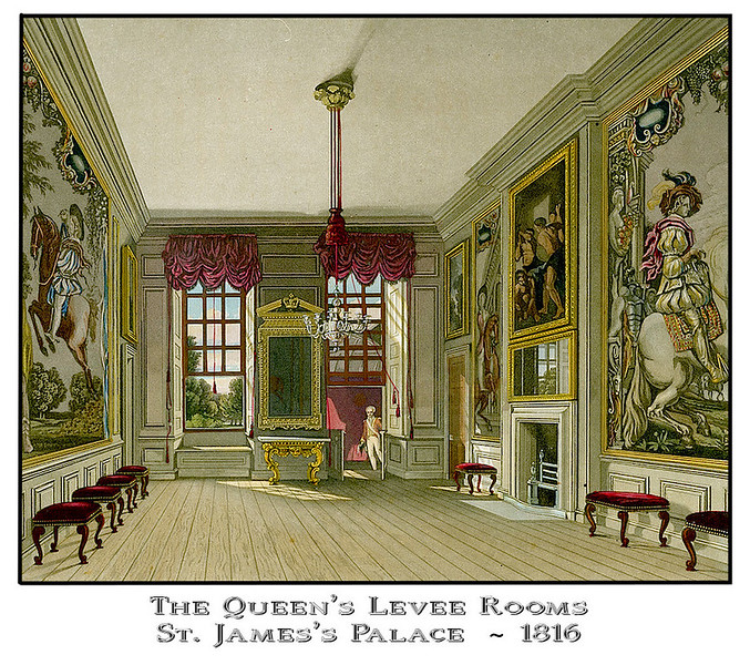 Queen's Levee Rooms at St. James's Palace