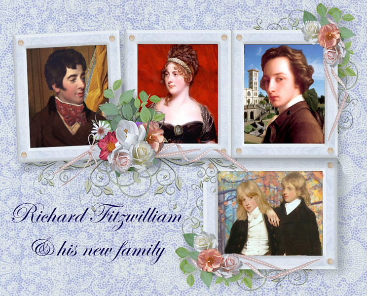 Richard Fitzwilliam's new family.