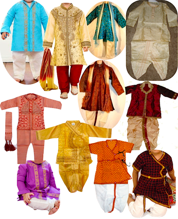 child Indian garments!
