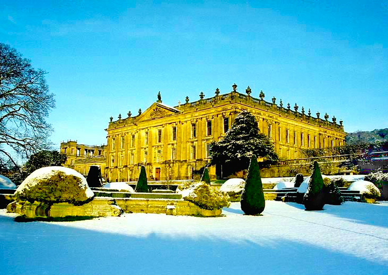 The Darcys' second Christmas at Pemberley.