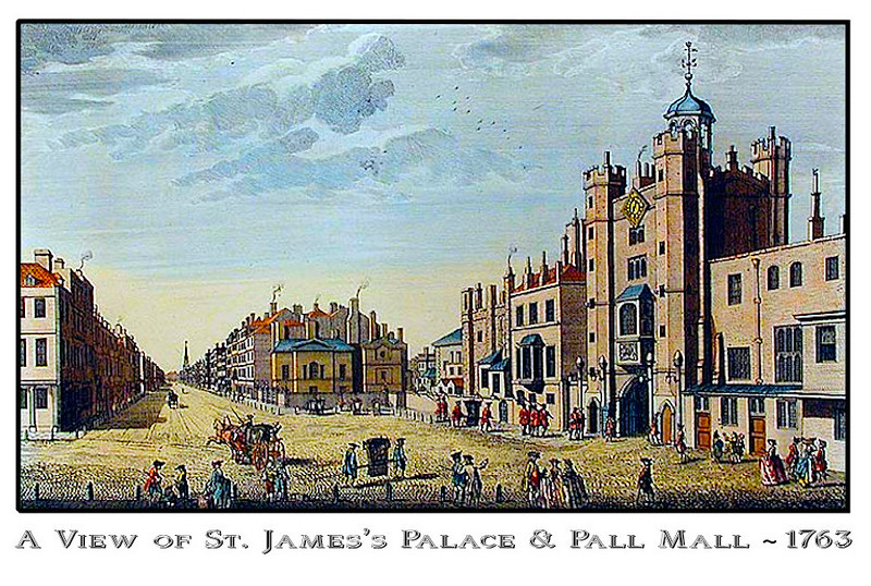 Pall Mall Square and St. James's Palace