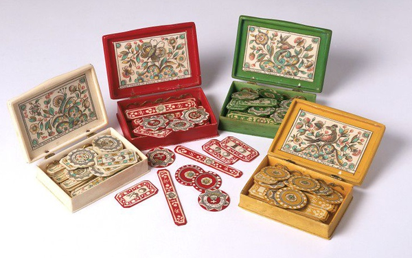 game counters for cards (1740 set) ...
