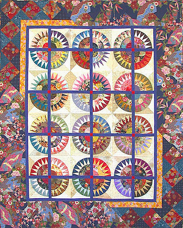 """""""crown of thorns"""" quilt"""