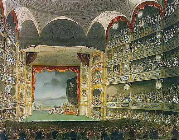 Drury Lane Theatre Royal interior