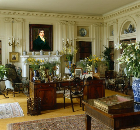 Elizabeth Darcy's private office/parlor