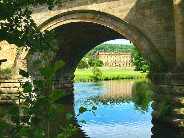 a peek at Pemberley under the bridge