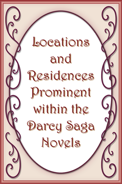 Darcy Saga Locations
