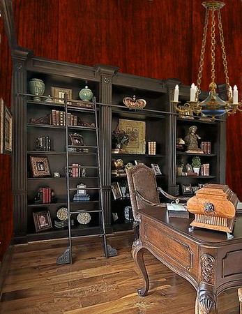Darcy's study/office