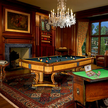 billiard and game room