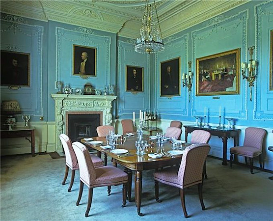 Longbourn dining room