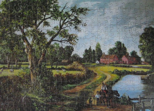 Dissecting puzzle of landscape (gift #20)
