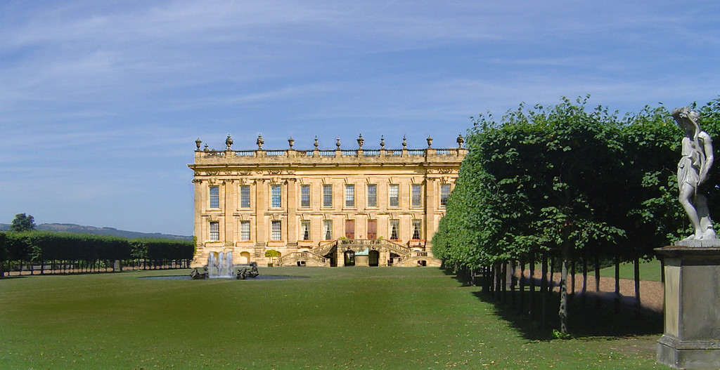 Pemberley lawn, location of Summer Festival