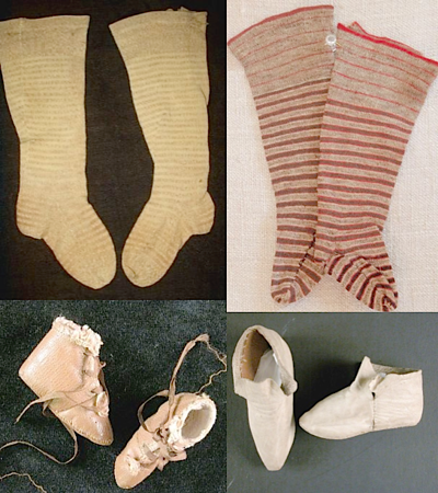 baby stockings & shoes