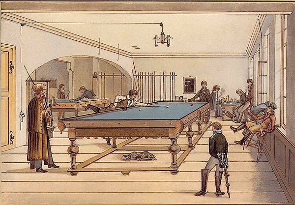 public billiard room