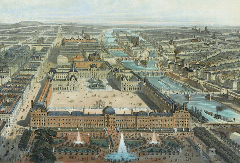 Tuileries Palace & Louvre