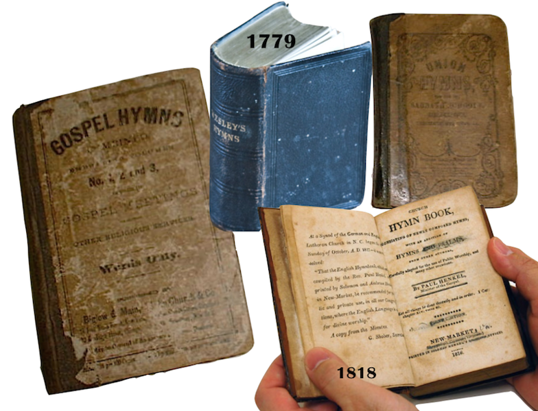 old church hymnals