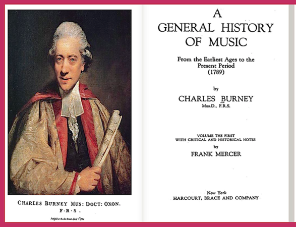 """""""A General History of Music"""""""