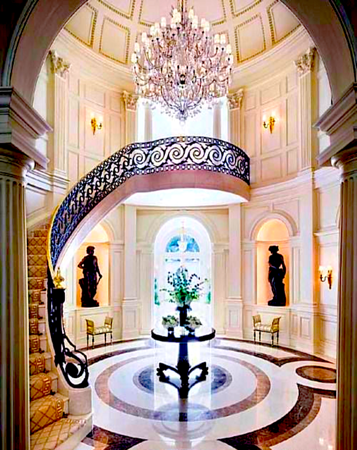 townhouse foyer