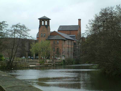 Cotton mill in Derby owned partly by Darcy