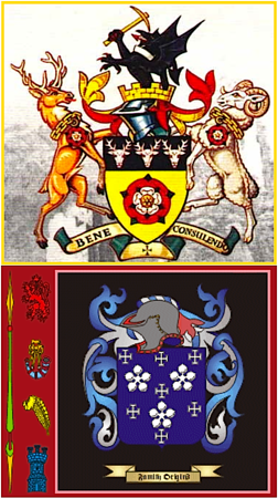Darcy family crests