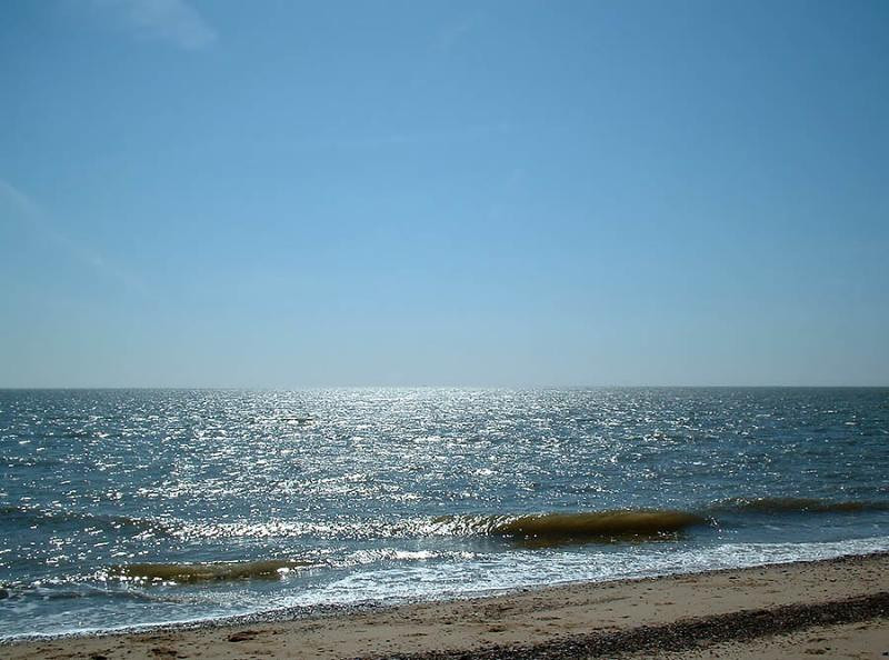 Caister-on-Sea ocean waves