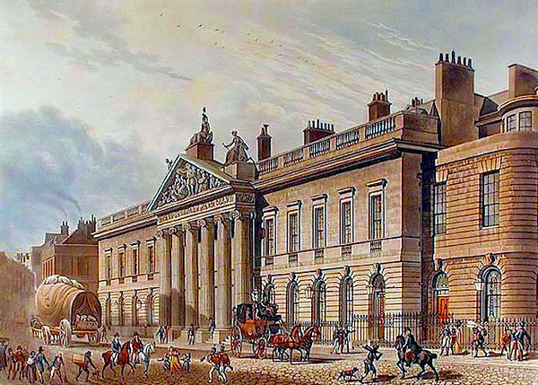 East India Company headquarters in London