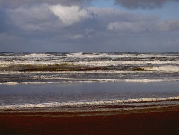 rough waves on the North Sea