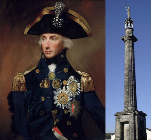 Admiral Lord Viscount Horatio Nelson