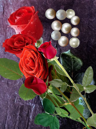 more roses and pearls