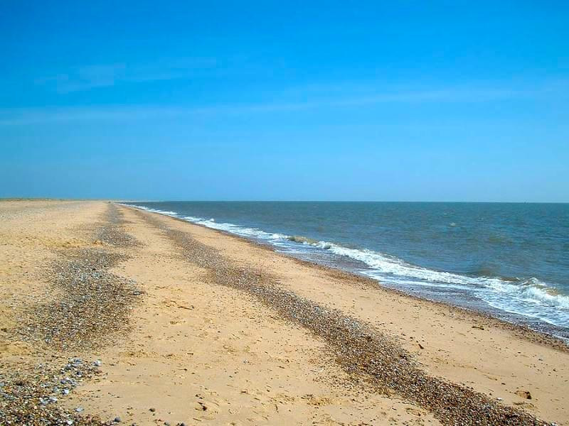Caister-on-Sea beach