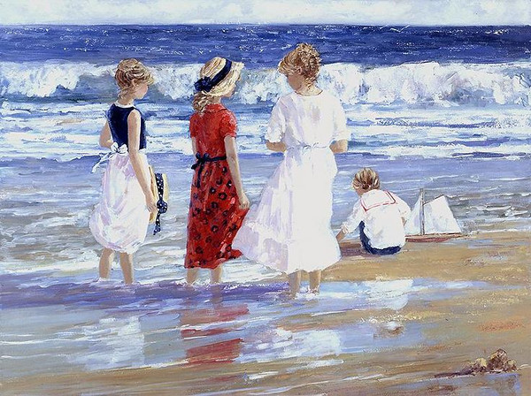 """By the Sea"" by Sally Swatland"