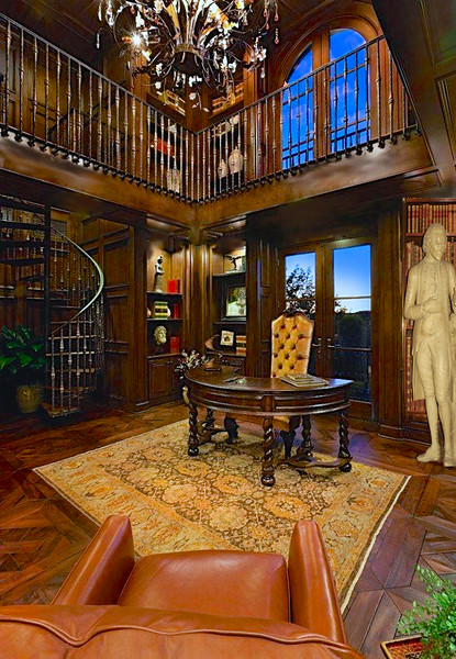 Darcy's study & library