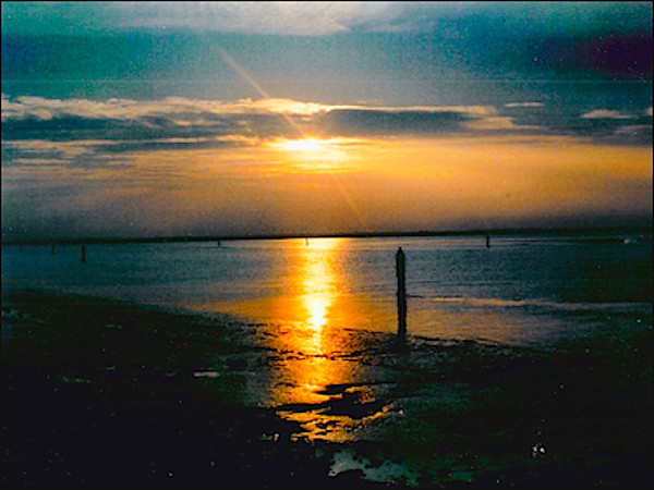 Sunset over Breydon Broads