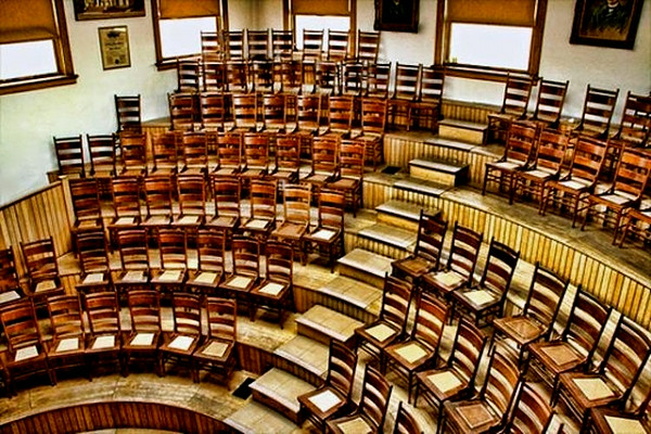 medical lecture theatre