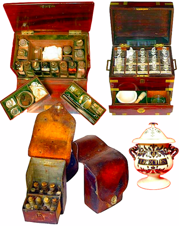 Apothecary cases