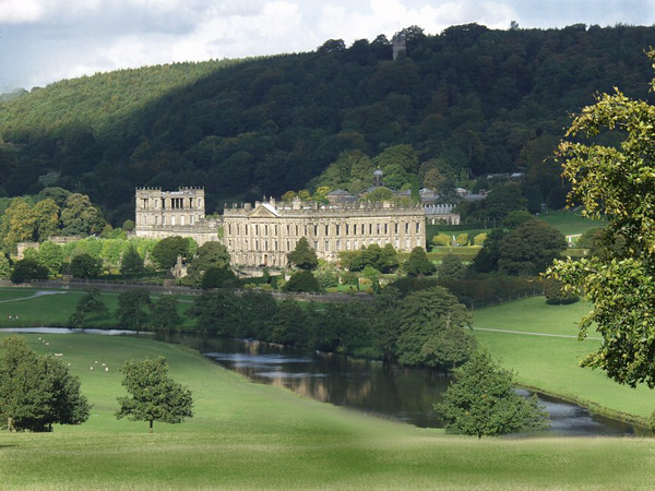 Pemberley in Derbyshire