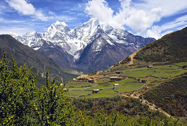 Sagarmatha from Khumba Valley