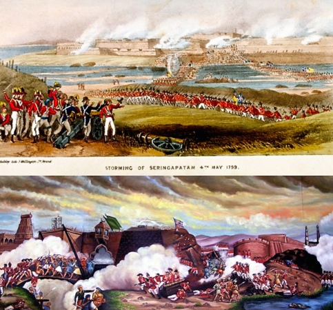 1799: Fourth Anglo-Mysore War