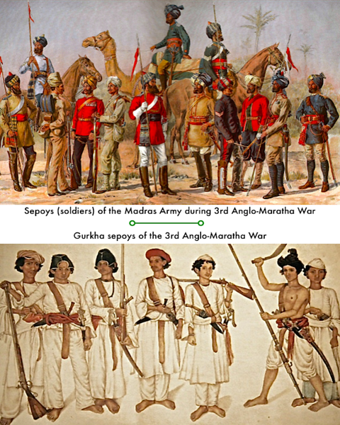 Sepoys (soldiers)