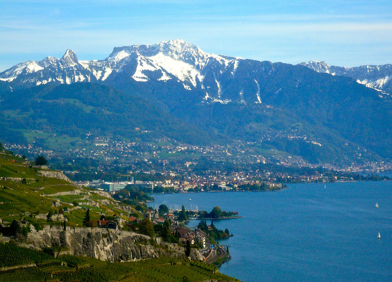 Lake Geneva & Alps