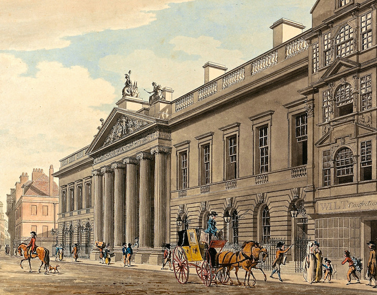 East India Company Headquarters, London