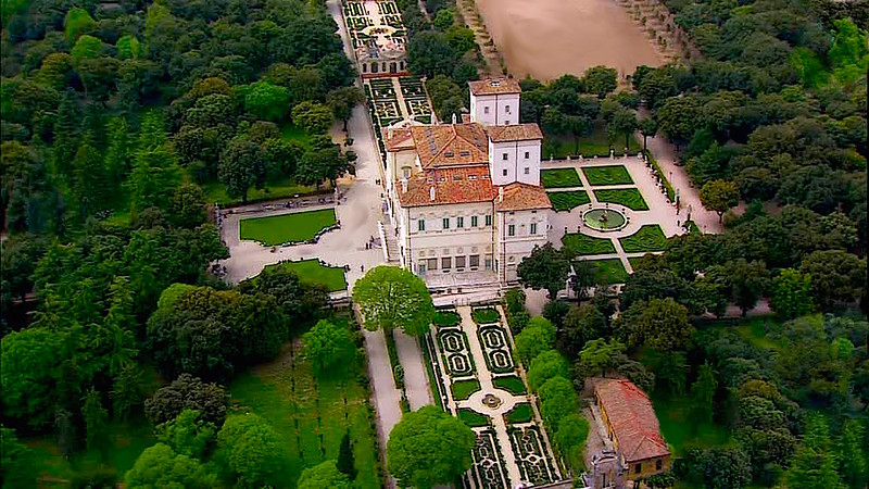 Villa Borghese and gardens