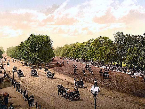 "1890 ""Rotten Row"" at Hyde Park"